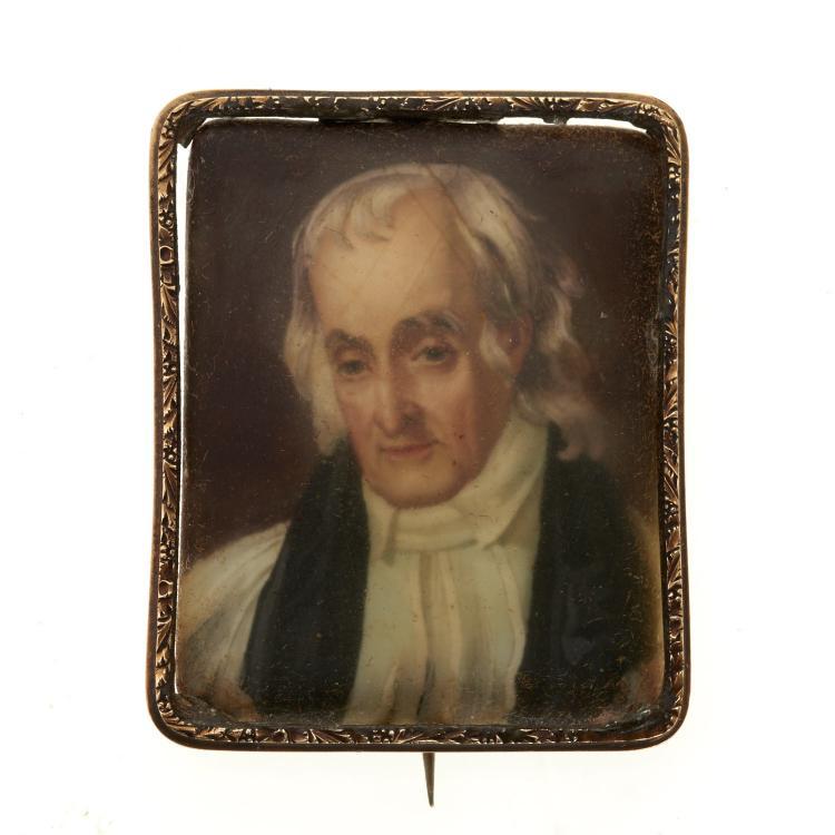 William Birch portrait miniature