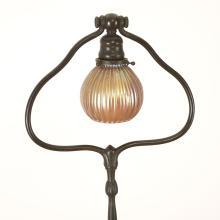 Tiffany Studios bronze lamp base no. 426