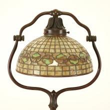 Tiffany Studios bronze floor lamp