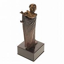 Carl Kauba, automation bronze sculpture