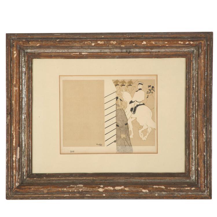 Henri de Toulouse-Lautrec, lithograph