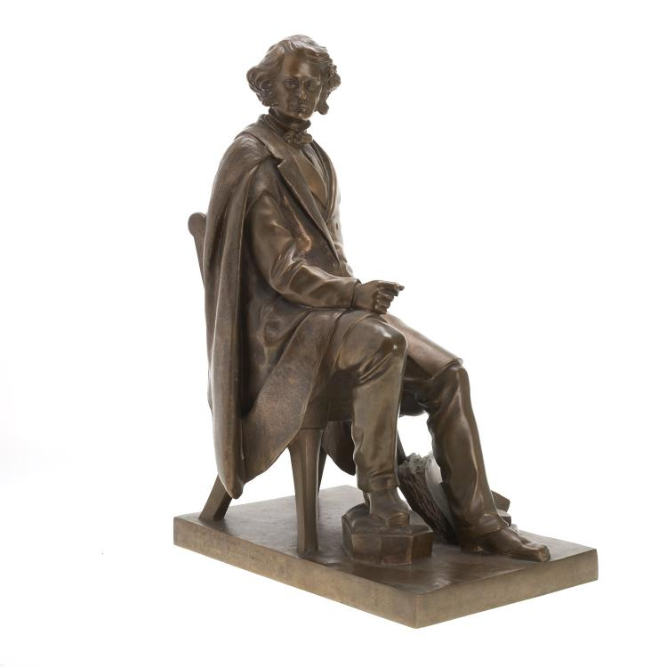Attr. Maurice J. Power, bronze statuette