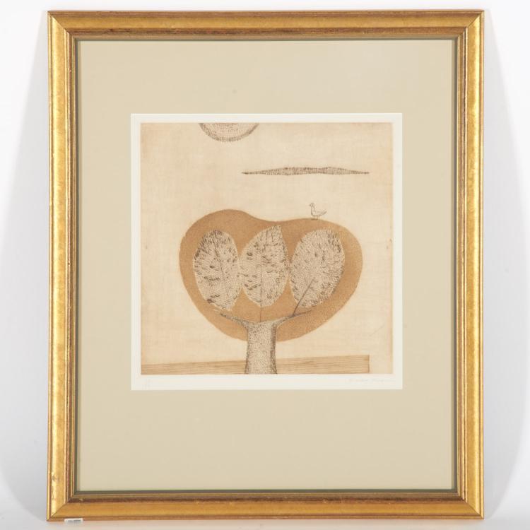Keiko Minami, etching