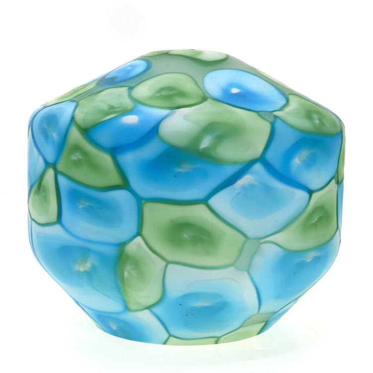 Ermanno Toso Nerox glass globe for Fratelli Toso