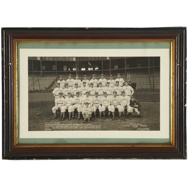 Early Empire Photograph of the New York Giants