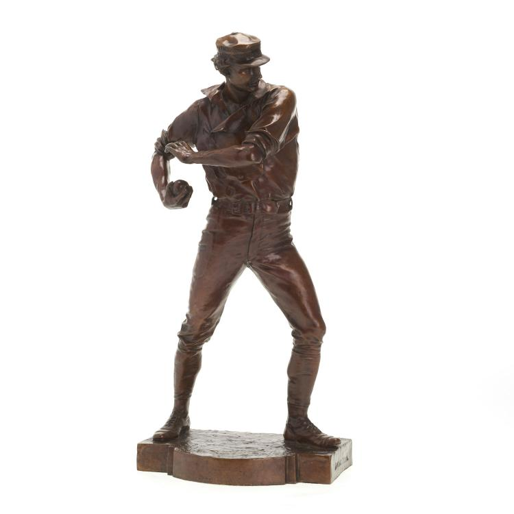 Douglas Tilden, limited ed. bronze sculpture