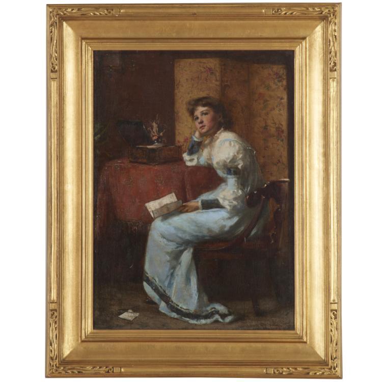 Maria R. Dixon, painting