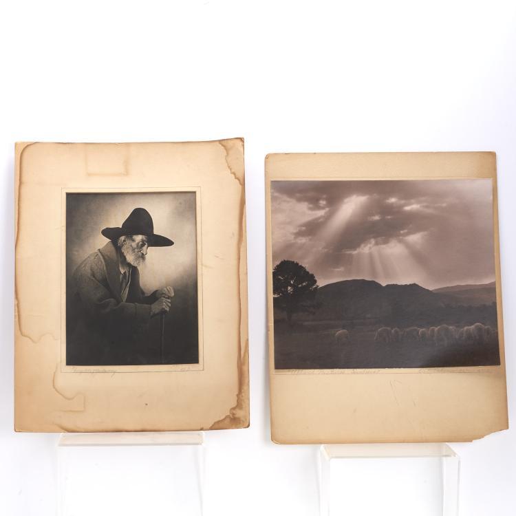 Benjamin J. Ochsner, (2) photographs