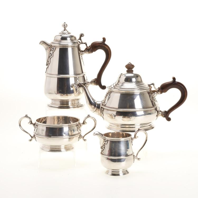 Reid & Sons sterling (4)-piece coffee/tea service