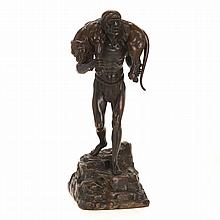 After Demetre Chiparus, bronze sculpture