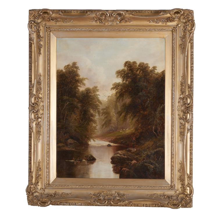 Hudson River School, painting