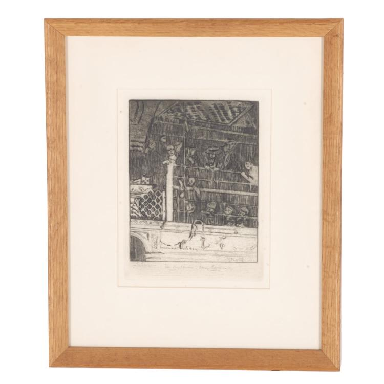 Walter Richard Sickert, etching