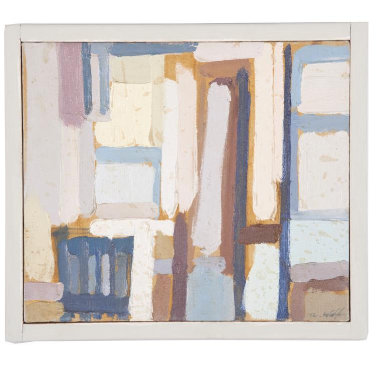 Allen Wolf, painting