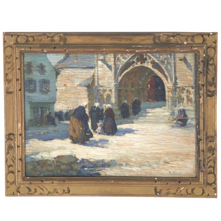 Emile Joseph Jules Simon, painting