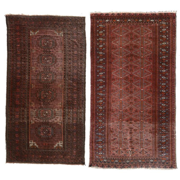 (2) Turkoman carpets