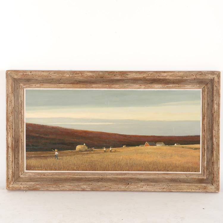 Eric Sloane, painting