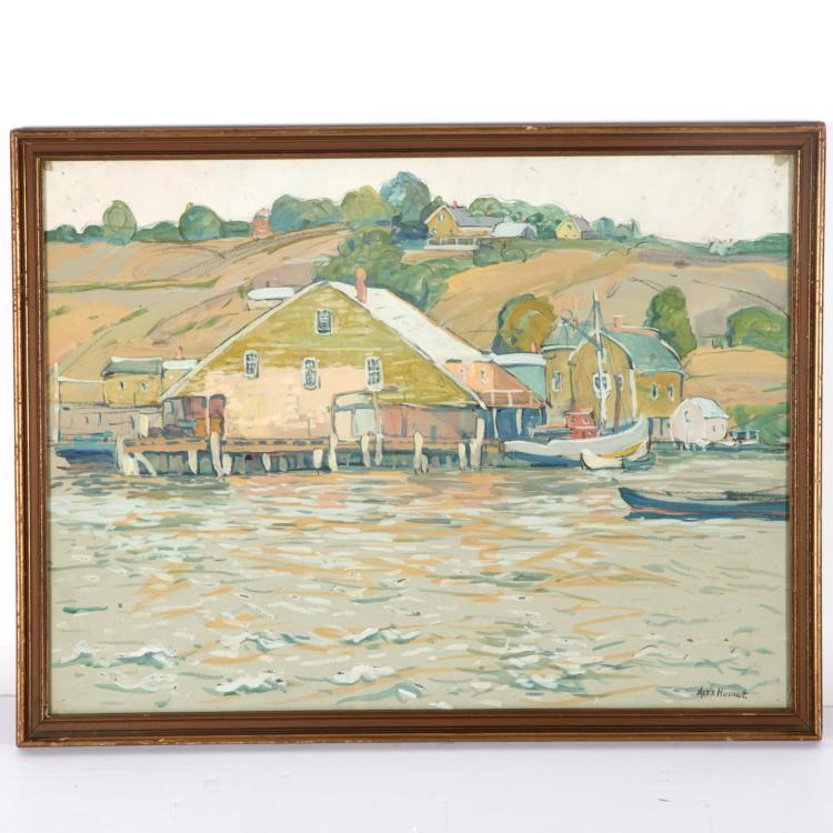 Alexander M. Hudnut, painting