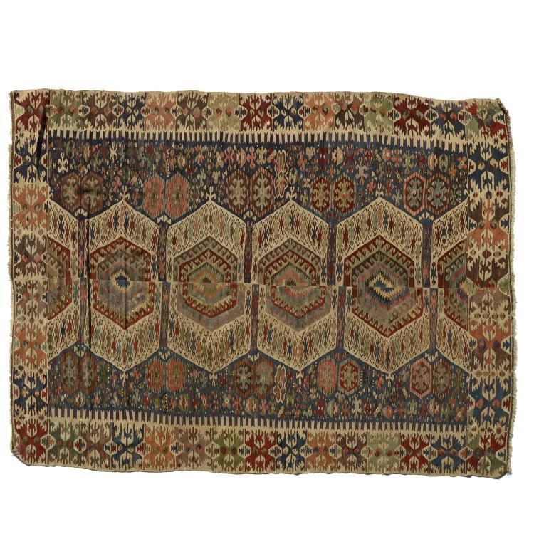 Caucasian flat weave carpet
