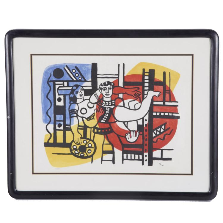 After Fernand Leger, lithograph