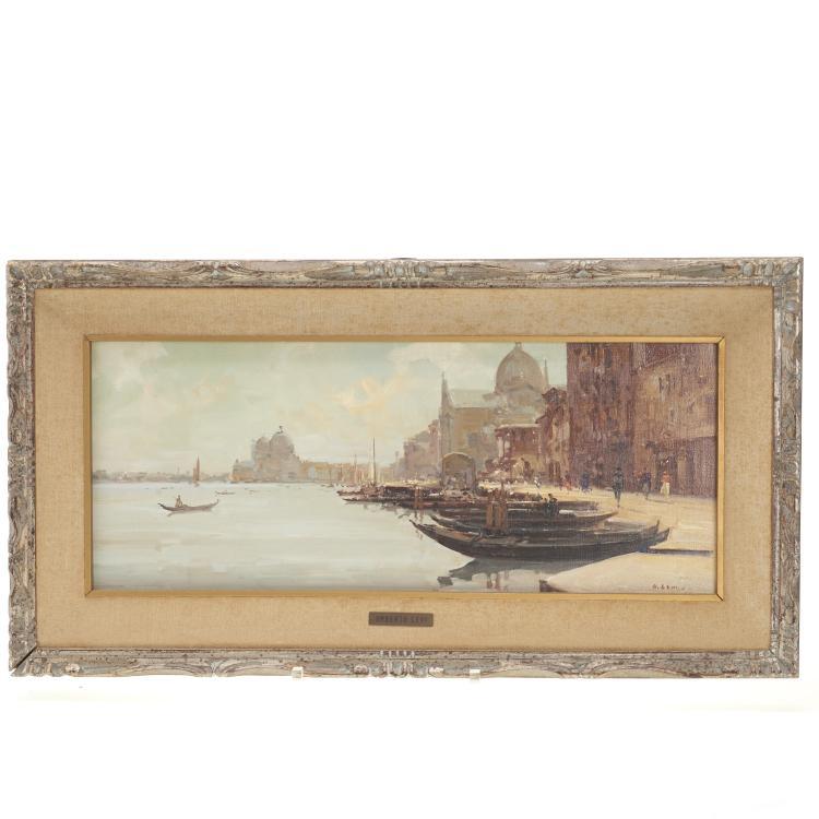 Umberto Levi, painting