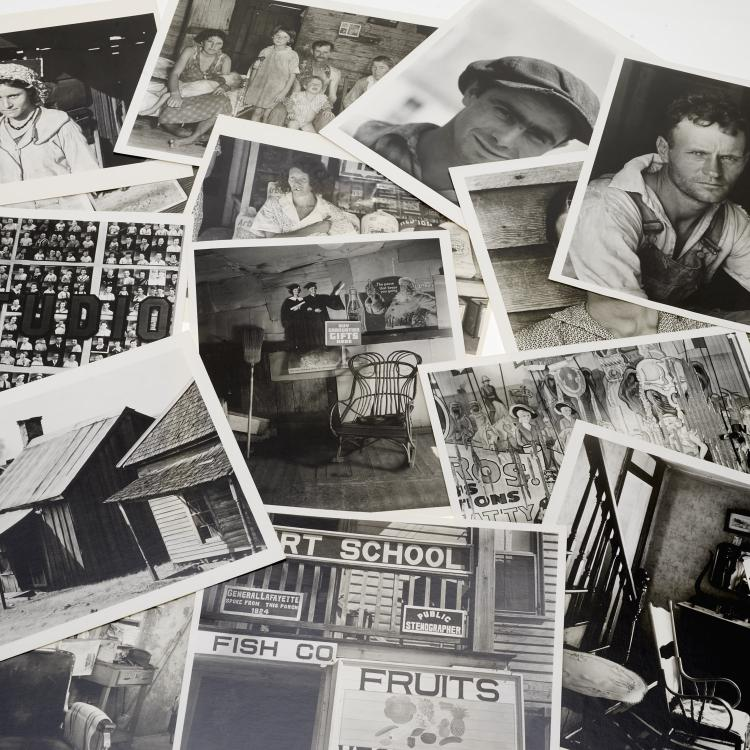 Walker Evans, portfolio (15) photographic prints