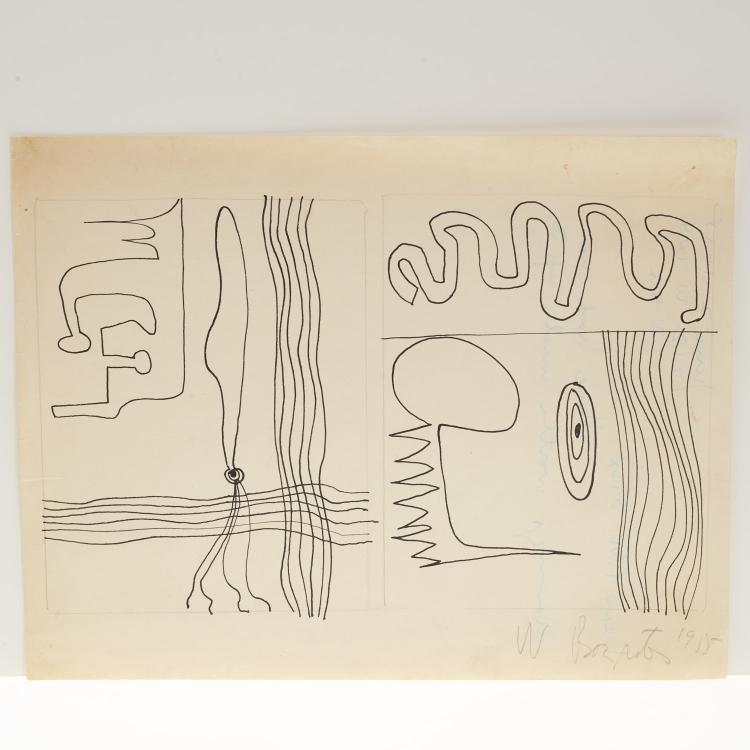 William Baziotes, drawing