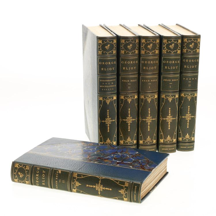 Books: Eliot, George. Artists' Edition Works.