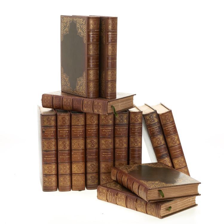 Books: Hawthorne, Nathaniel, Works.