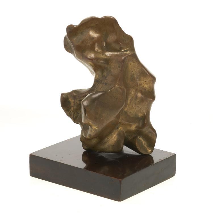 Luis Lopez Loza, bronze sculpture