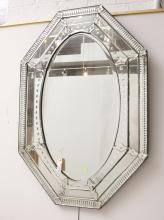 Large Venetian style wall mirror