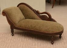 Victorian style miniature Doggie fainting couch