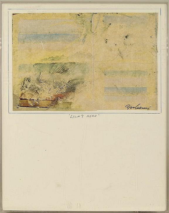 Athanasios Zacharias (b. 1927, American), painting