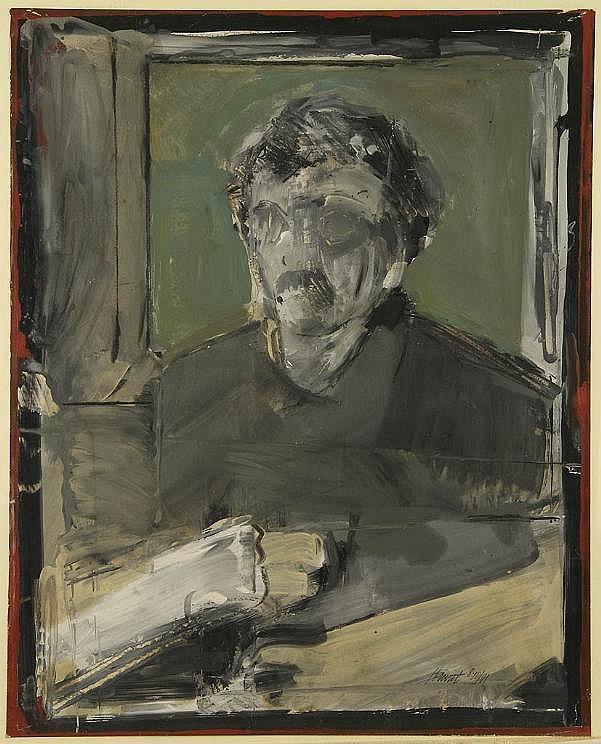 Charles Hewitt (b. 1946, American), painting