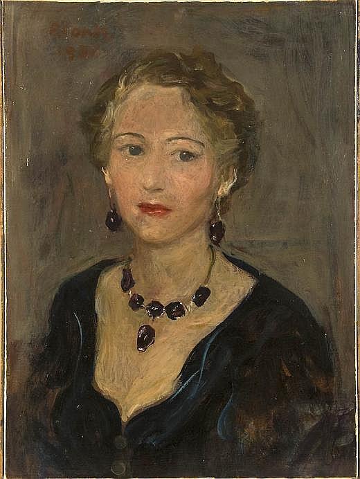 Primo Conti (1900-1988, Italian), painting
