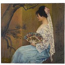 Louis L. Betts, large painting