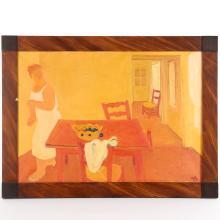 Maurice Savin, painting