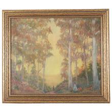 James Edwin McBurney, painting