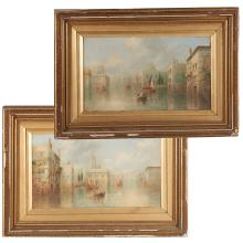 James Salt, pair paintings