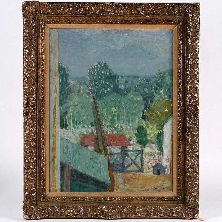 Pierre Grimm (1898-1979, Ukrainian), painting