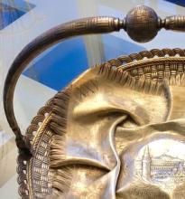 Lot 1: Antique PAVEL OVCHINNIKOV Russian Silver Sterling Bowl