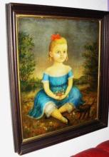 Lot 3: THOMAS ATTARDI (American, b.1900) Oil Painting