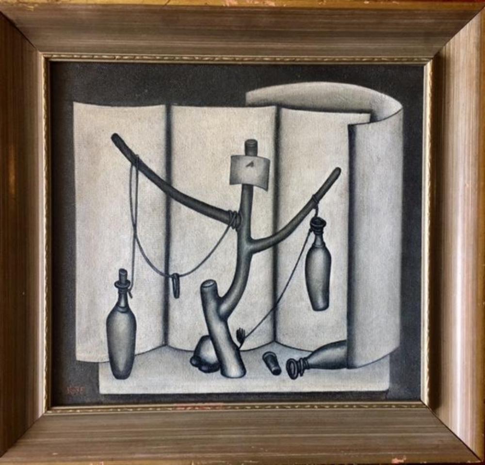 Dmitri Krasnopevtsev (Russian, 1925-1995) Oil Masonite
