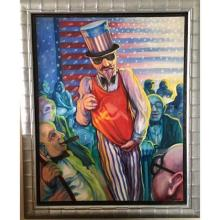 Lot 10: K. MILLER (Russian, b.1959) Oil Painting on Canvas