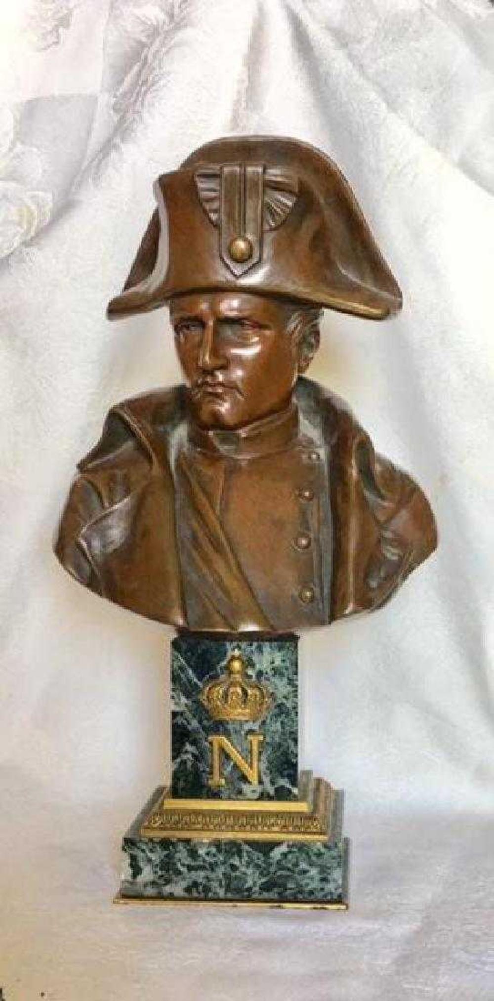 """EMILE PINEDO (French, 1840-1916) Bronze 13.5"""" Napoleon"""