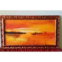 Lot 15: JEAN CLAUDE BRULERE (French b.1943) Oil Painting on Canvas