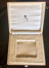 Lot 23: Russian Imperial Faberge Wooden Box From Cigarette Case