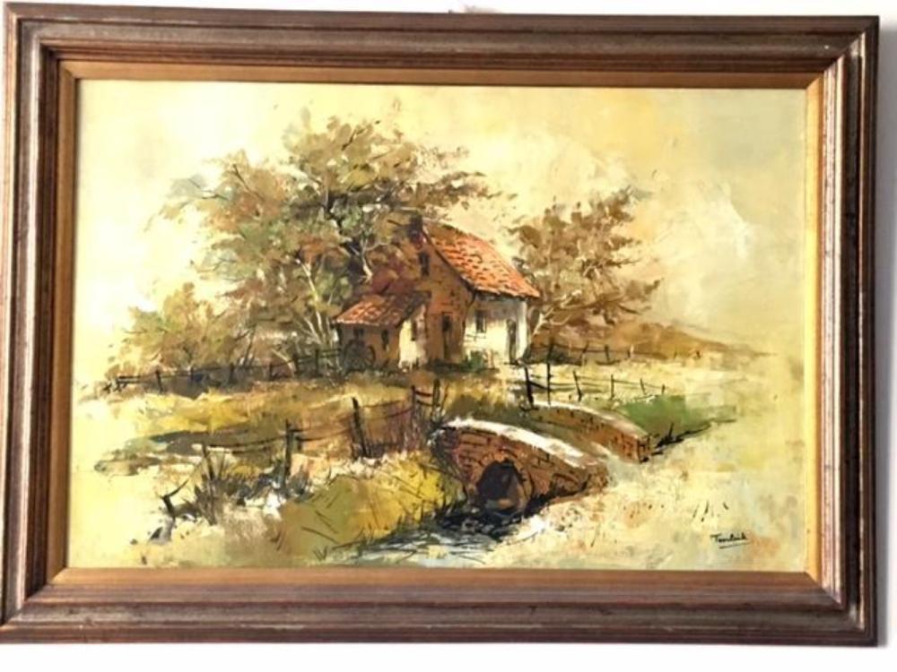 TEERLINK Oil Painting on Canvas