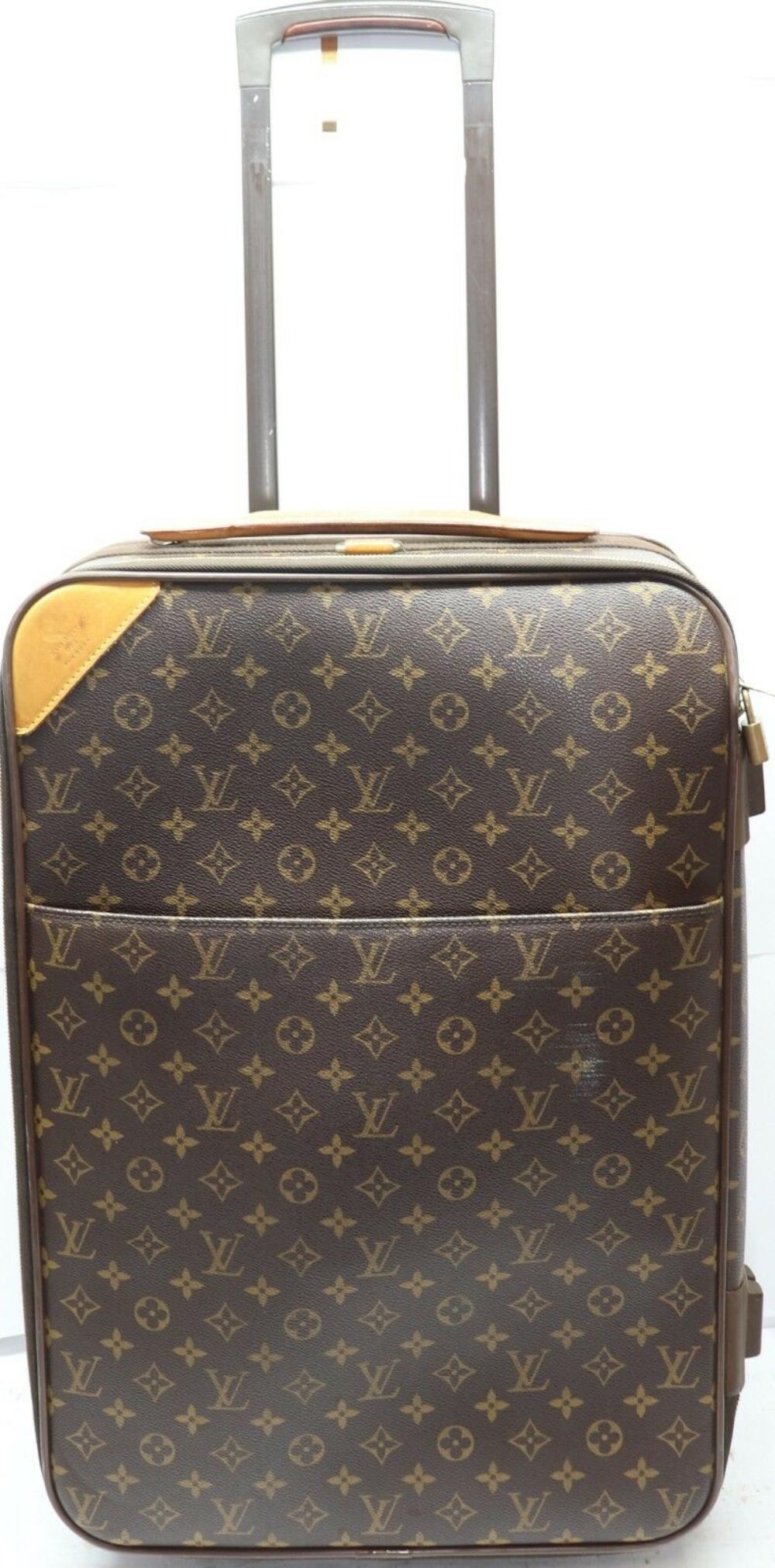 Louis Vuitton Monogram Pegase 55 Travel Carry On Bag