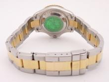 Lot 56: ROLEX YACHT MASTER 169623 Ladies 18K Gold Watch