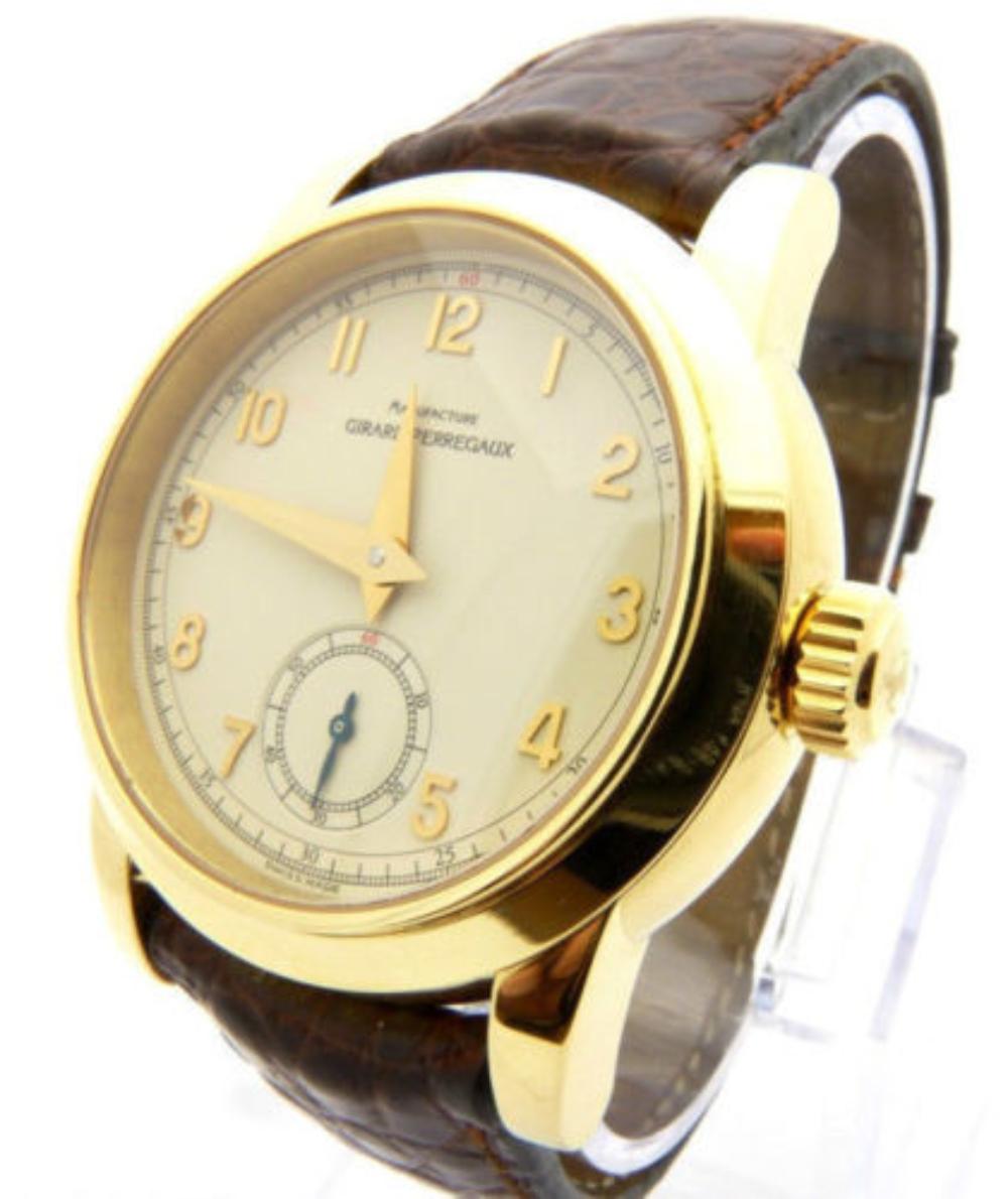 GIRARD PERREGAUX 8030 Ferrari Men's Watch 18K Gold